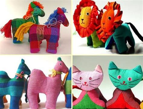 Great Blogs On Handmade Toys by Barefoot Handmade Eco Friendly Plush Animals Inhabitots