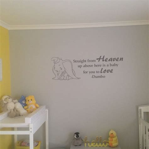 dumbo wall stickers dumbo wall decal nursery and baby stuff