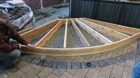 patio curved patio pergola home patio show curved pergola