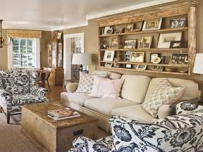cottage style living room furniture modern rustic cottage living room gets updated with woven wood shades the finishing touch