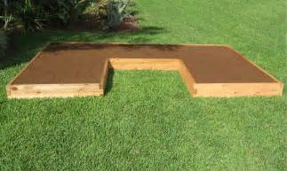 Cedar Raised Garden Bed Kit - u shaped raised garden bed cedar bed gardeninminutes