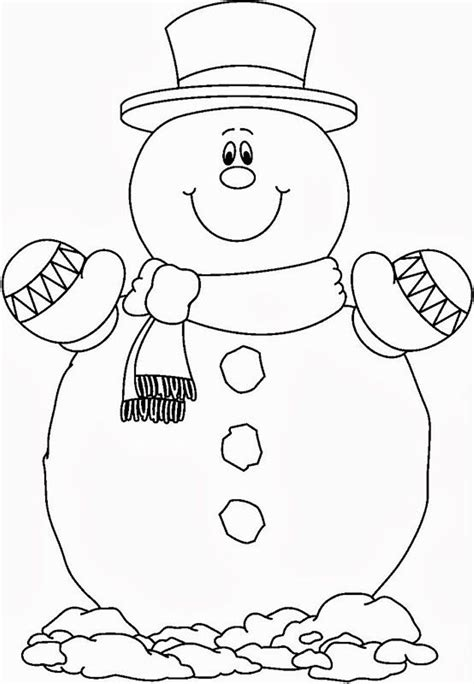 snowman coloring pages for preschool snowman coloring pages to download and print for free
