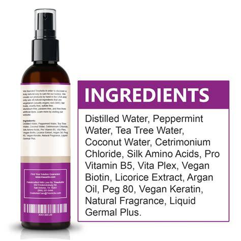 Hair Tonic Maiden Hair Tonic Serum treeactiv nourishing hair tonic treeactiv