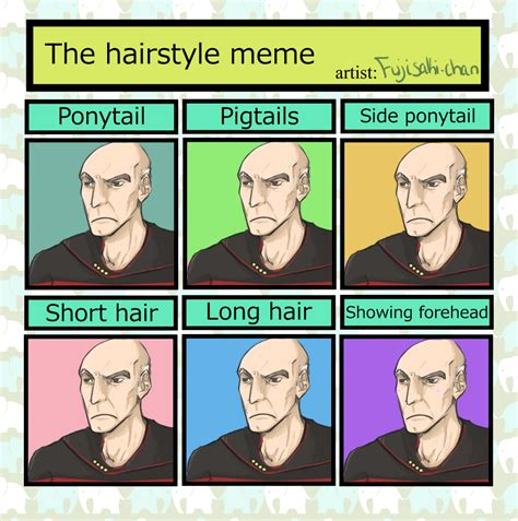 Hairstyle Meme - hairstyle meme picardo by rottendeadpan on deviantart