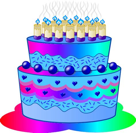 Free Birthday Clip Birthday Cake by Free Birthday Cake Clipart Pictures Clipartix