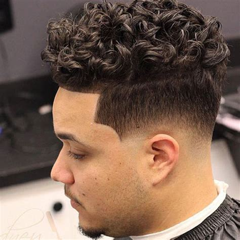 droplines hairstyle men s haircuts for curly hair