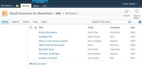 Office 365 Xml Office 365 Sharepoint Externe Xml Daten Komplett