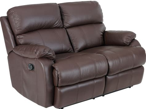 2 Seat Recliner by Carla 2 Seat Manual Leather Recliner Furniture Sofas