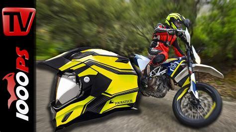 Motorradhelme Linz by Touratech Aventuro Motorradhelm Test 2015