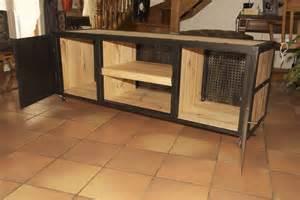 cuisine cr 195 169 ations meubles bois et fer sur a