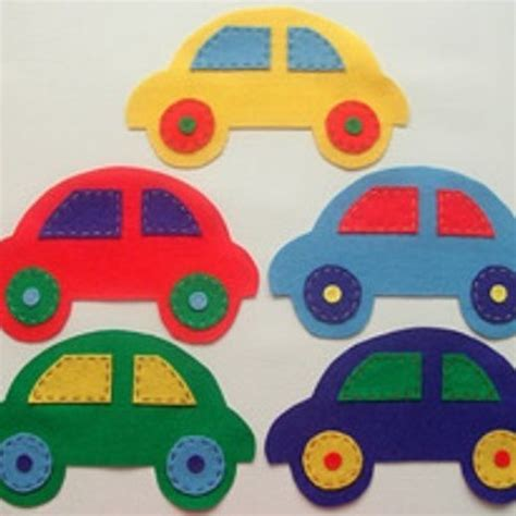 pattern felt car this is the car shape i want for the gift bags craft bag