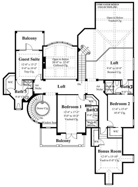 house plan the cardiff sater design collection luxury the world s catalog of ideas