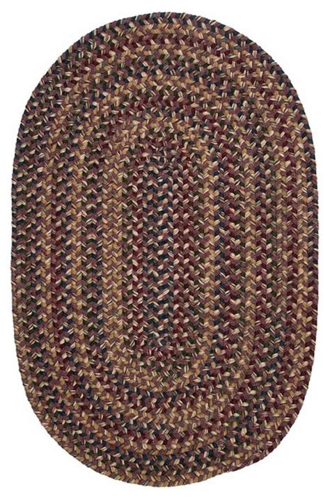 Braided Wool Area Rugs Shop Houzz Colonial Mills Inc Colonial Mills Twilight Tl40 Lavender Braided Rug Area Rugs