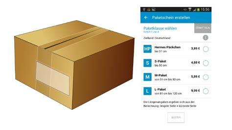 Hermes Paketschein Ausdrucken by Mobiler Paketschein Bei Hermes Nicht Spurlos