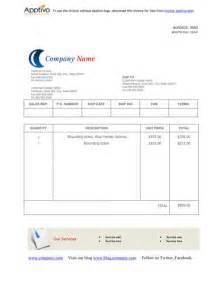 blank printable invoice template blank sales invoice printable invoice template