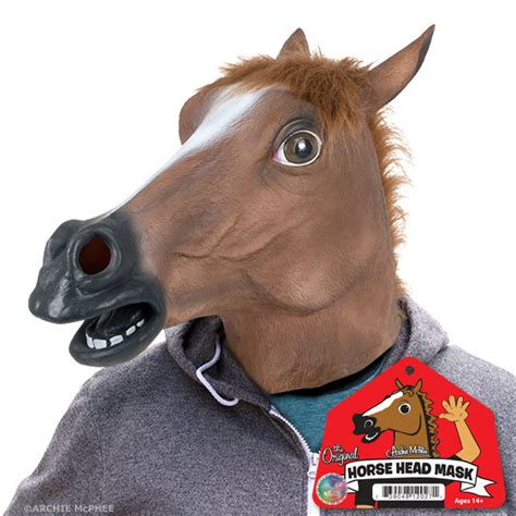Horse Decor For Home by Horse Head Mask Accoutrements Archie Mcphee Wholesale