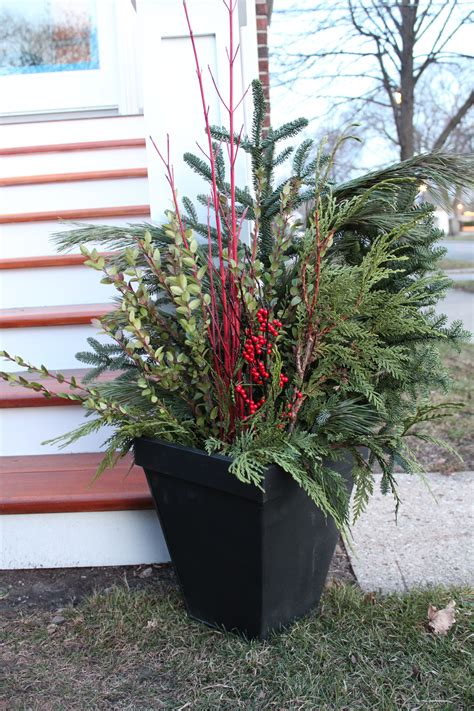 outdoor planters holiday handmaidtales