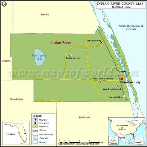 river county map indian river county map florida