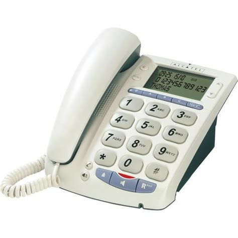 Alcatel Temporis Telepon Gantung 1 alcatel temporis max achat t 233 l 233 phone fixe pas cher avis et meilleur prix cdiscount