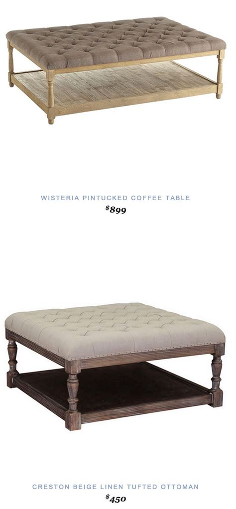 ottoman vs coffee table 1000 ideas about tufted ottoman coffee table on pinterest