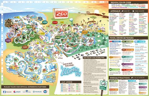 columbus zoo map zoos columbus