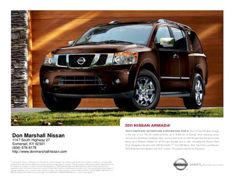 nissan armada  sale  lexington ky don