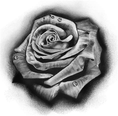 realistic rose tattoo designs knumathise artwork images