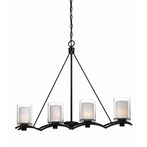 artcraft lighting andover 4 light kitchen island pendant