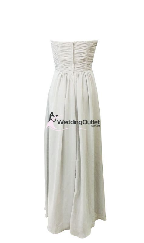 light gray bridesmaid dresses light grey strapless bridesmaid dresses style ab101