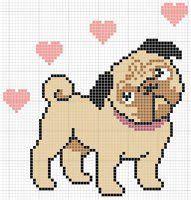 pug cross stitch patterns free pug cross stitch free to print patterns patterns kid