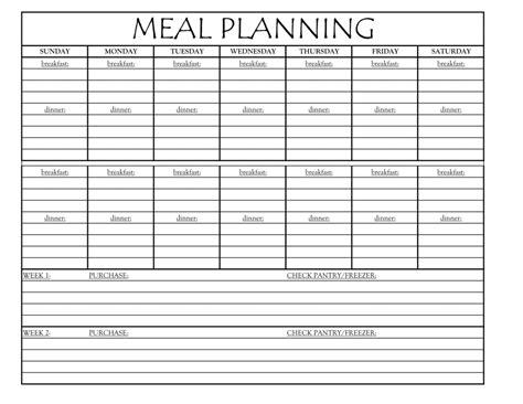 meal planning valentina s corner