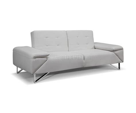 London Sofa Bed In Faux Leather By Whiteline