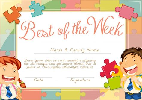 children s certificate template small school vectors photos and psd files free