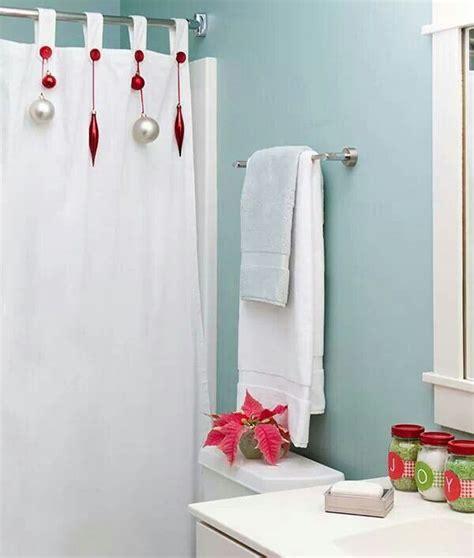 decorazioni bagni decorazioni natalizie anche nella stanza da bagno