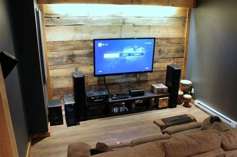 home theater battlestation home theater  gaming