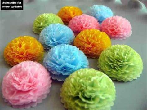 Tissue Paper Flower Craft Ideas - tissue paper flowers craft ideas collection