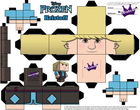 Disney Papercraft Templates - disney frozen kristoff template skgaleana by skgaleana on