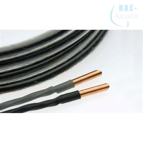 Kabel Ls silent wire ls 6 schwarz 6 x 0 5 mm 178 meterware 26 00