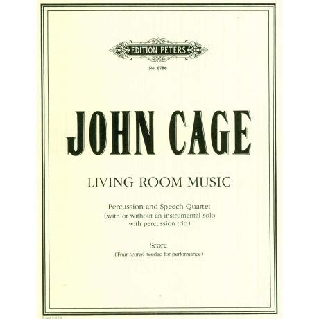 living room music living room music by john cage percussion ensemble