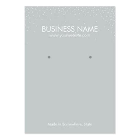 380 jewelry display business cards and jewelry display