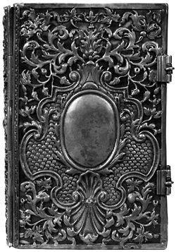 silver book | Ornate books, Vintage book covers, Antique books