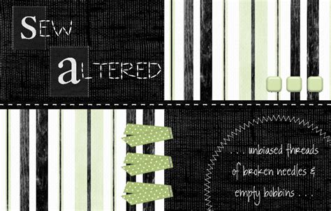 Altered Beginnings sew altered new beginnings