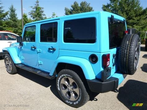 jeep chief color 2017 2017 chief blue jeep wrangler unlimited 4x4