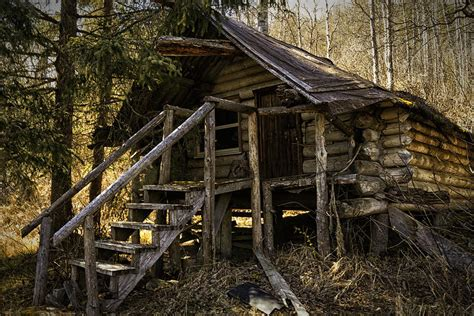 Trappers Cabin by The Trappers Cabin Photograph By Eclectic Edge