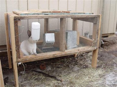 Handmade Rabbit Hutch - rabbit hutches made from pallets pallet wood projects