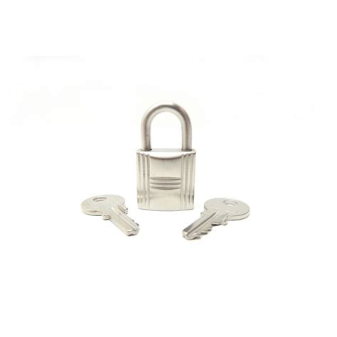 cadenas pour sac hermes cadenas hermes 120 en acier metal brosse et 2