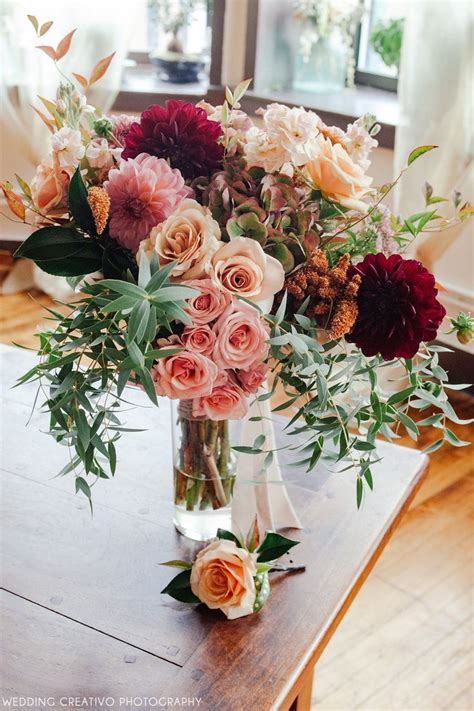 Flower Arrangements Wedding by Best 25 Fall Flower Arrangements Ideas On