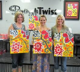 Painting With A Twist World Of The Wilsons Painting With A Twist