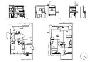 Schroder House Floor Plan Schroder House Utrecht The Netherlands 1924 1925 By