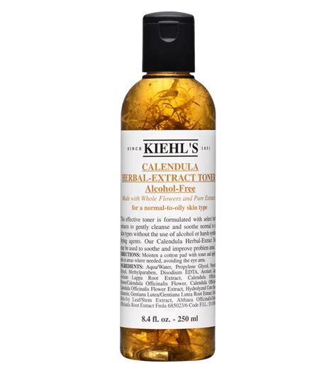 100 Ori Kiehls Calendula Herbal Extract Toner Free 250 Ml toner n豌盻嫩 hoa h盻渡g